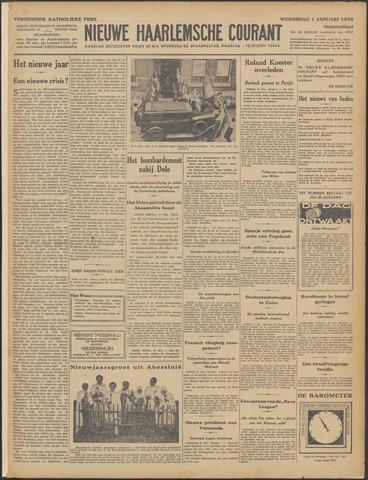 Nieuwe Haarlemsche Courant 1936
