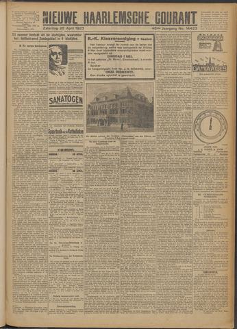 Nieuwe Haarlemsche Courant 1923-04-28