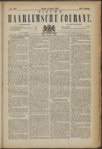Nieuwe Haarlemsche Courant 1891-03-15