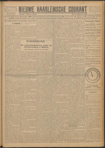 Nieuwe Haarlemsche Courant 1927-02-01