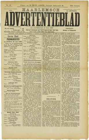 Haarlemsch Advertentieblad 1889-06-22