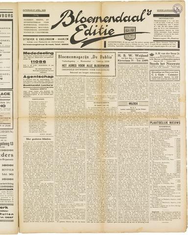 Bloemendaal's Editie 1929-04-27