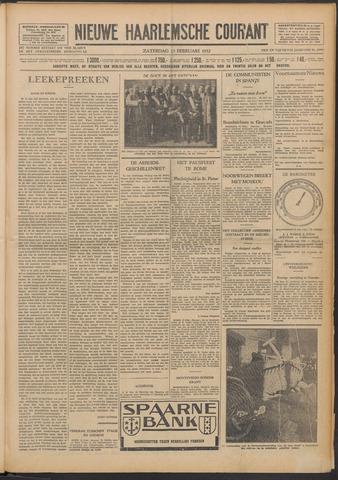 Nieuwe Haarlemsche Courant 1932-02-13