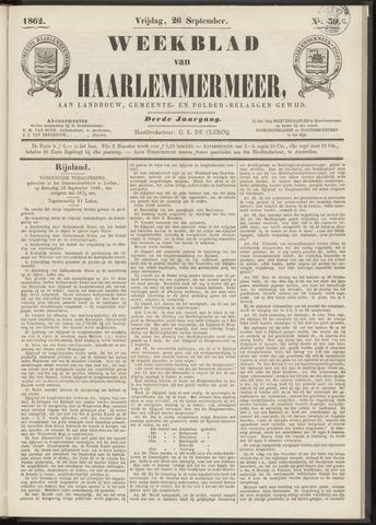 Weekblad van Haarlemmermeer 1862-09-26