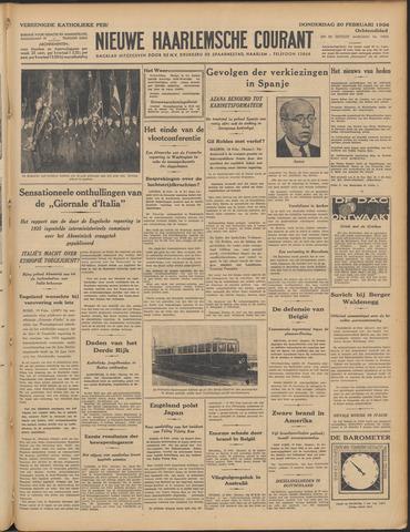 Nieuwe Haarlemsche Courant 1936-02-20