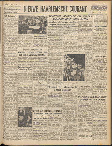 Nieuwe Haarlemsche Courant 1949-05-06