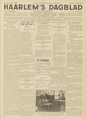 Haarlem's Dagblad 1935-10-07