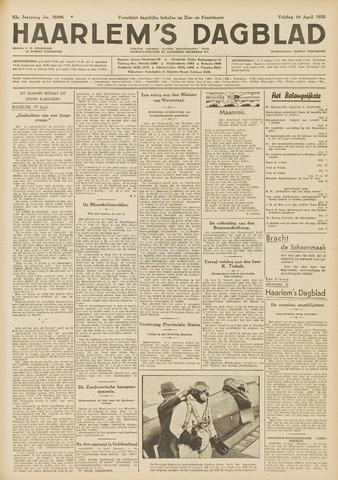 Haarlem's Dagblad 1935-04-19