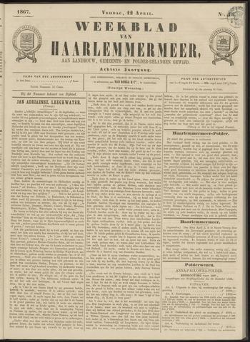 Weekblad van Haarlemmermeer 1867-04-12