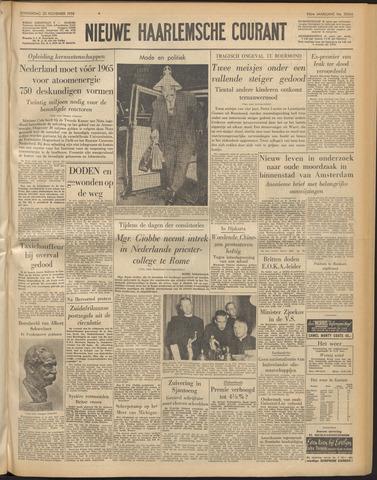 Nieuwe Haarlemsche Courant 1958-11-20