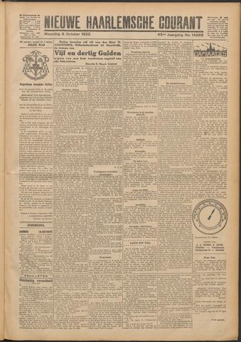 Nieuwe Haarlemsche Courant 1922-10-09