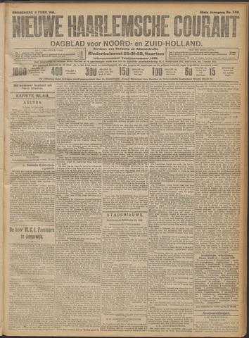 Nieuwe Haarlemsche Courant 1911-02-09