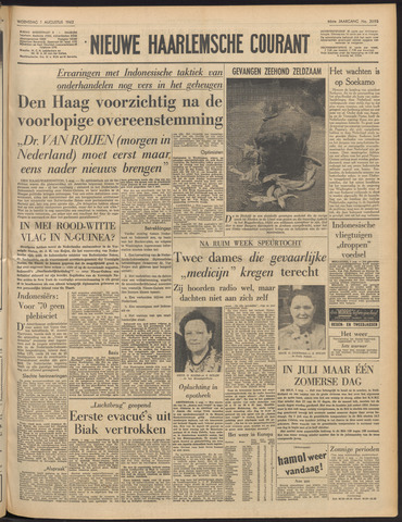 Nieuwe Haarlemsche Courant 1962-08-01