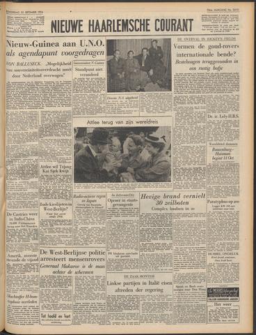 Nieuwe Haarlemsche Courant 1954-09-23