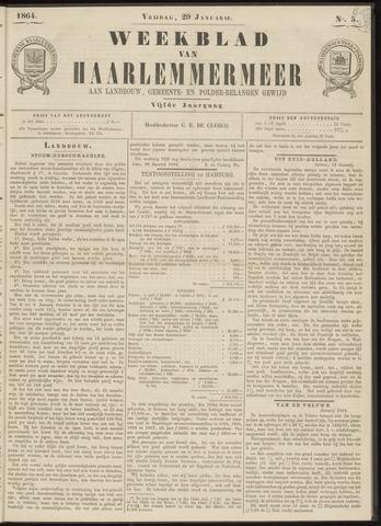 Weekblad van Haarlemmermeer 1864-01-29