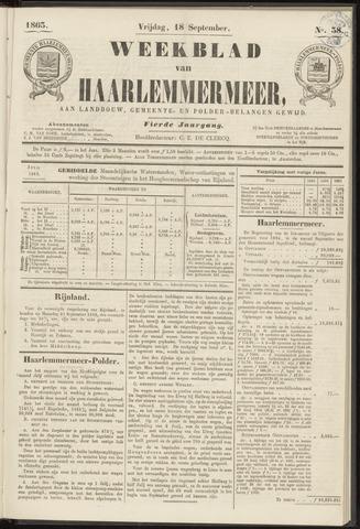 Weekblad van Haarlemmermeer 1863-09-18