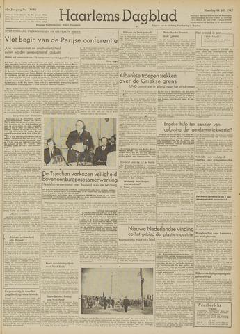 Haarlem's Dagblad 1947-07-14