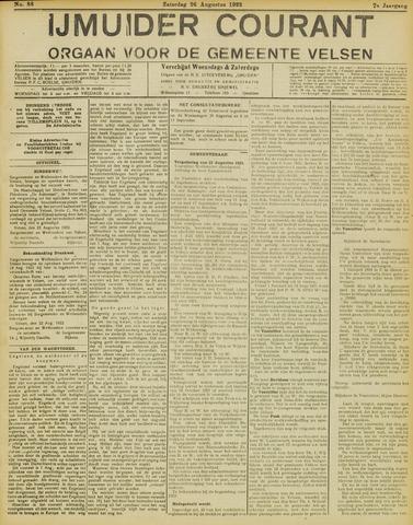IJmuider Courant 1922-08-26