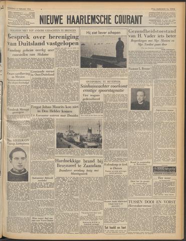Nieuwe Haarlemsche Courant 1954-02-08