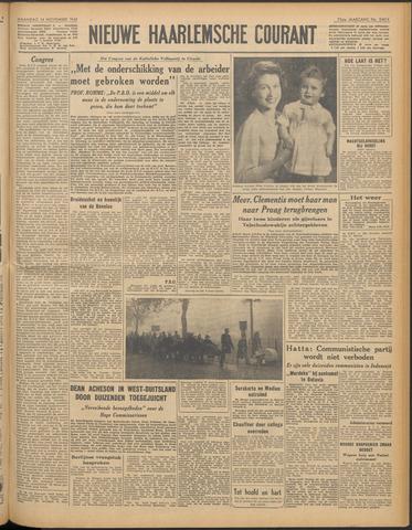 Nieuwe Haarlemsche Courant 1949-11-14