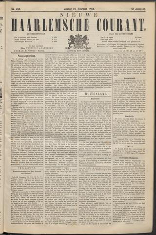 Nieuwe Haarlemsche Courant 1881-02-27