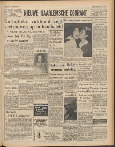 Nieuwe Haarlemsche Courant 1963-09-14