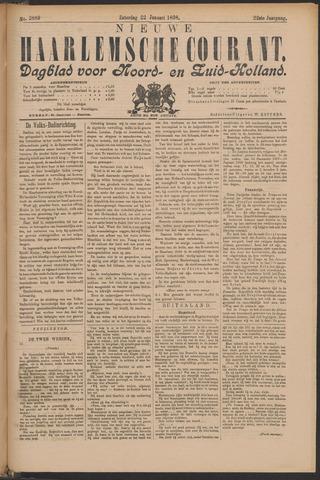Nieuwe Haarlemsche Courant 1898-01-22
