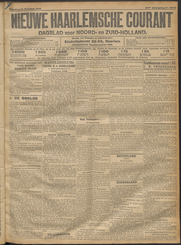 Nieuwe Haarlemsche Courant 1915-10-12