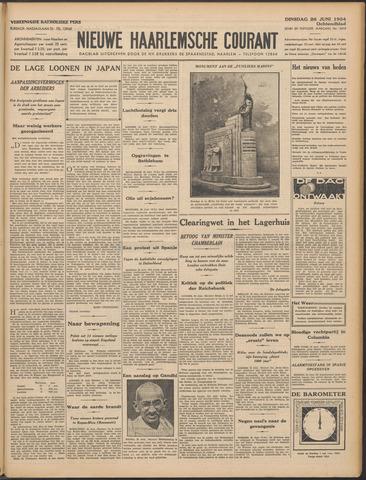 Nieuwe Haarlemsche Courant 1934-06-26