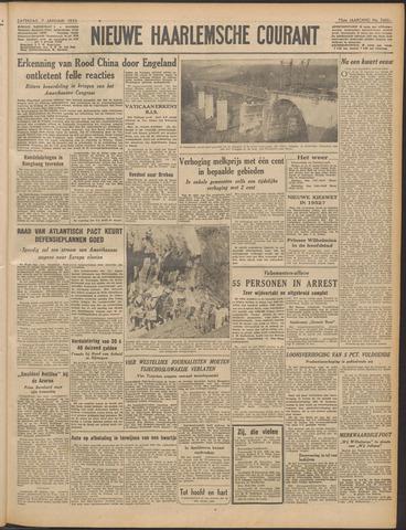 Nieuwe Haarlemsche Courant 1950-01-07