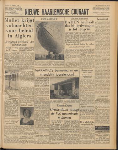 Nieuwe Haarlemsche Courant 1956-03-13