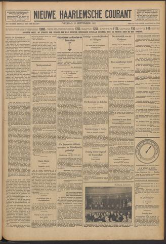 Nieuwe Haarlemsche Courant 1931-09-25