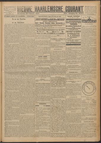 Nieuwe Haarlemsche Courant 1923-02-22