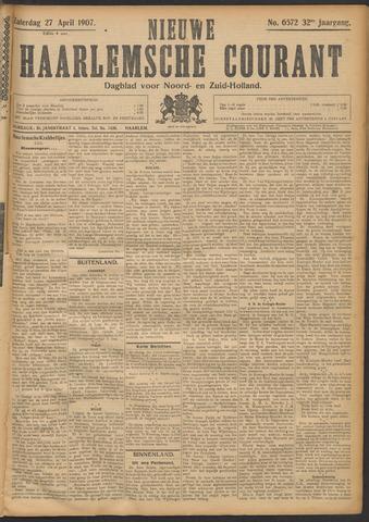 Nieuwe Haarlemsche Courant 1907-04-27