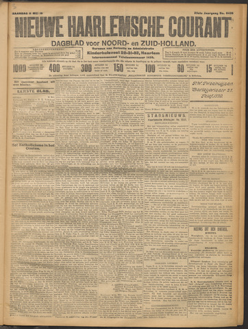 Nieuwe Haarlemsche Courant 1914-05-11