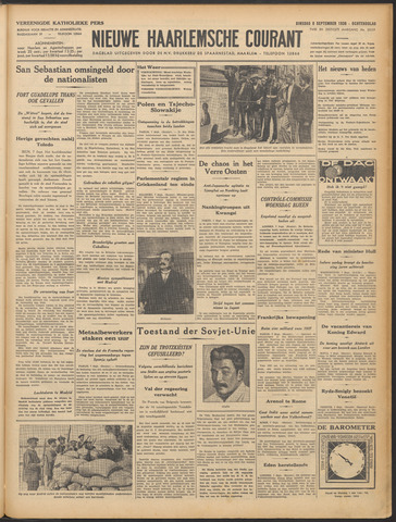 Nieuwe Haarlemsche Courant 1936-09-08