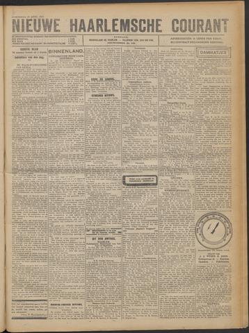 Nieuwe Haarlemsche Courant 1922-04-19