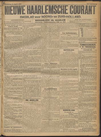 Nieuwe Haarlemsche Courant 1916-04-12