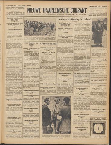 Nieuwe Haarlemsche Courant 1936-07-07
