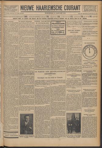 Nieuwe Haarlemsche Courant 1932-01-13