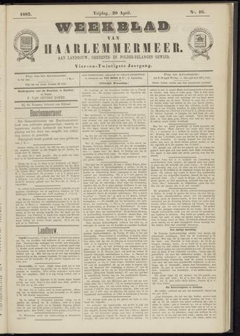 Weekblad van Haarlemmermeer 1883-04-20
