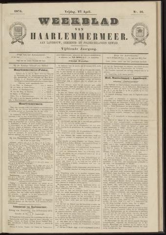 Weekblad van Haarlemmermeer 1874-04-17