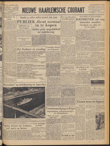 Nieuwe Haarlemsche Courant 1952-08-29