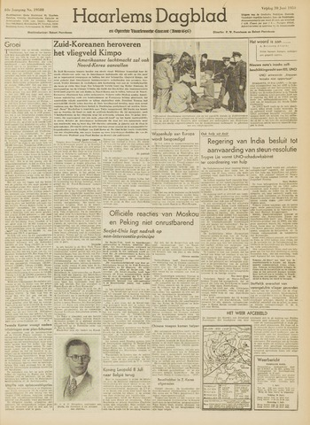 Haarlem's Dagblad 1950-06-30