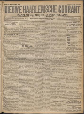 Nieuwe Haarlemsche Courant 1915-02-26