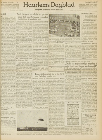 Haarlem's Dagblad 1950-05-17
