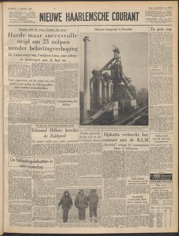 Nieuwe Haarlemsche Courant 1958-01-04