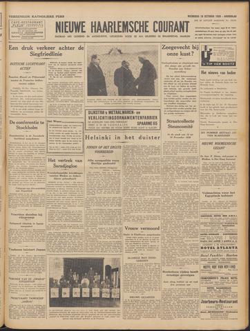 Nieuwe Haarlemsche Courant 1939-10-18