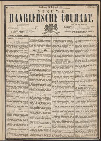 Nieuwe Haarlemsche Courant 1878-02-14