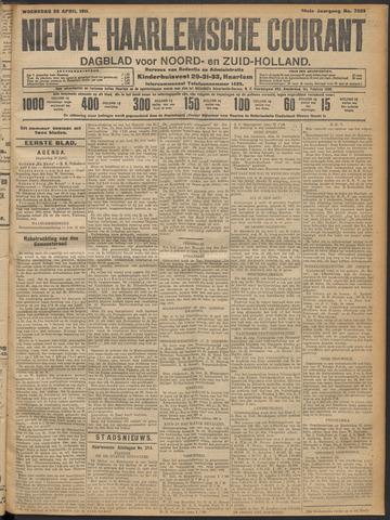 Nieuwe Haarlemsche Courant 1911-04-26